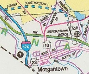 Morgantown in 1993