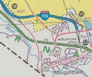 Morgantown in 1999