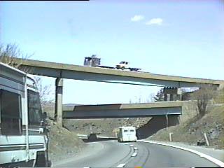Old stack interchange at I-81/I-84/I-380