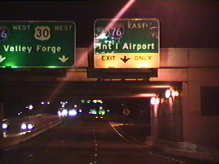 I-676 westbound at I 76