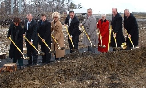 Groundbreaking for the final section of the Cranberry Connector