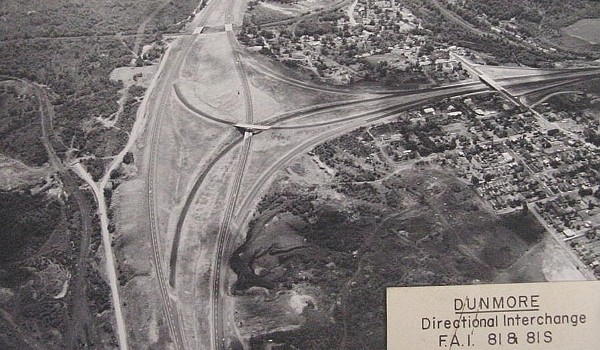 Current Exit 187 in the 1960s