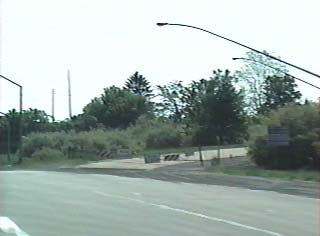 US 22 eastbound at ramp to PA 33 southbound