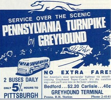 Greyhound advertisement