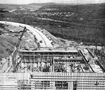 Construction of the Lehigh Tunnel