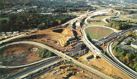 Mid-County Interchange Under Construction