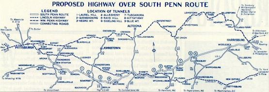 The Pennsylvania Turnpike plan