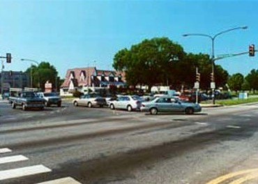 Roosevelt Boulevard at Red Lion Road