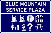 Blue Mountain Service Plaza