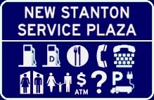 New Stanton Service Plaza