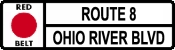Red Belt - Route 8/Ohio River Boulevard