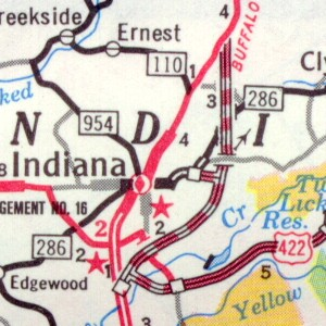 Indiana Bypass in 1971