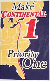 Promotional Map of the future US 219 corridor