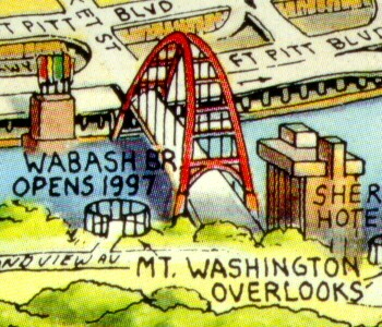 Wabash Bridge rendering courtesy of Unique Media Maps