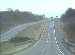Southbound on PA 147 where it becomes a super 2