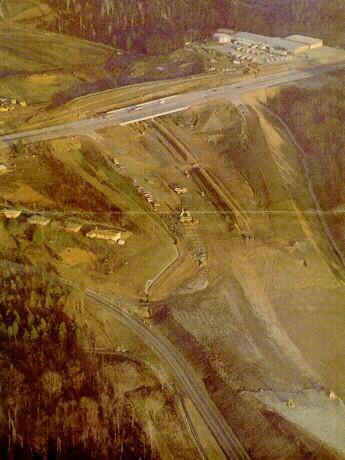 US 30 interchange construction