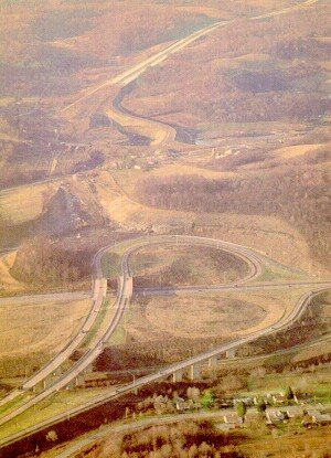 US 119 cloverleaf construction