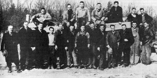 Crew of the L.M. Hutchison Company