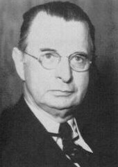 Walter Albert Jones, the first commission chairman
