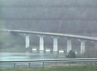 US 15 bridge over Tioga Reservoir