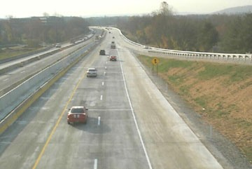 New highway open to traffic