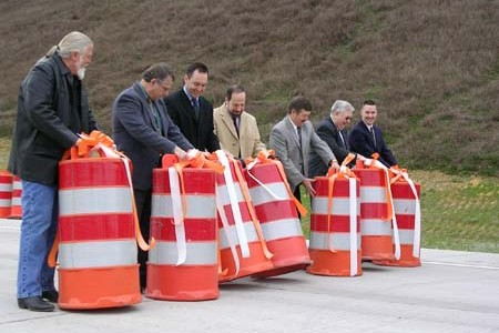 Barrel-rolling signifies the opening of the expressway