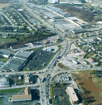US 30 near North George Street
