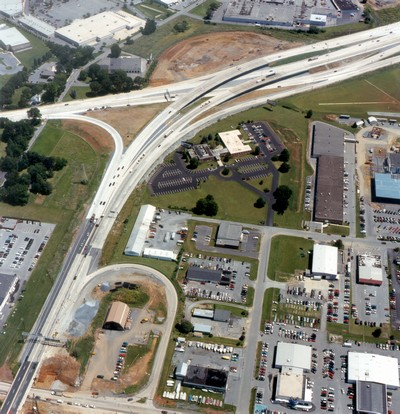 US 30 and PA 283 interchange