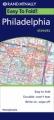 Philadelphia: Rand McNally EasyFinder Map