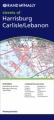 Rand McNally Folded Map: Harrisburg, Carlisle, Lebanon
