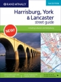 Rand McNally Street Guide: Harrisburg, York & Lancaster (1st Edition)