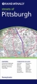 Pittsburgh Metro: Rand McNally Folded Map