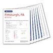 Rand McNally Downloadable Map: Pittsburgh, PA