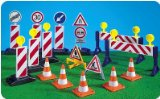 PLAYMOBIL® Construction Signs