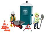 PLAYMOBIL® Portable Bathroom with Crew