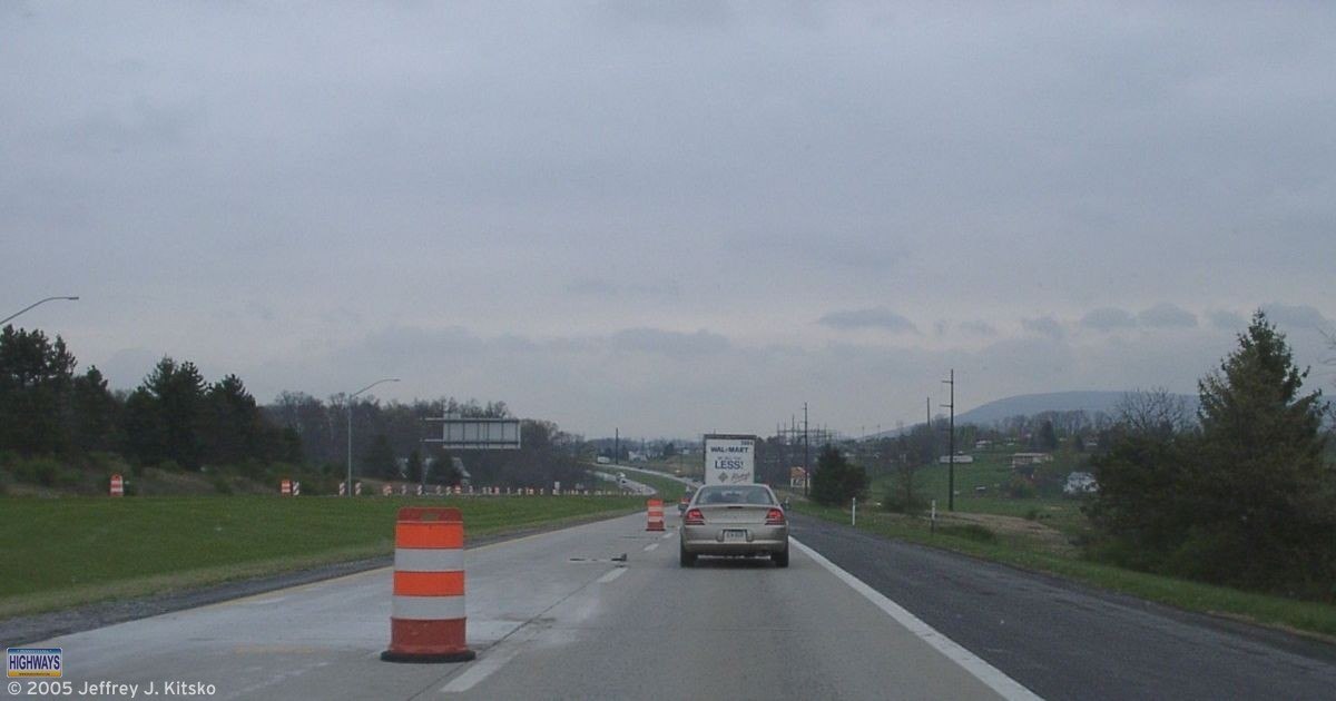 Projects like I-99 rehabilitation mean we're not number 1 in worst roads this year.