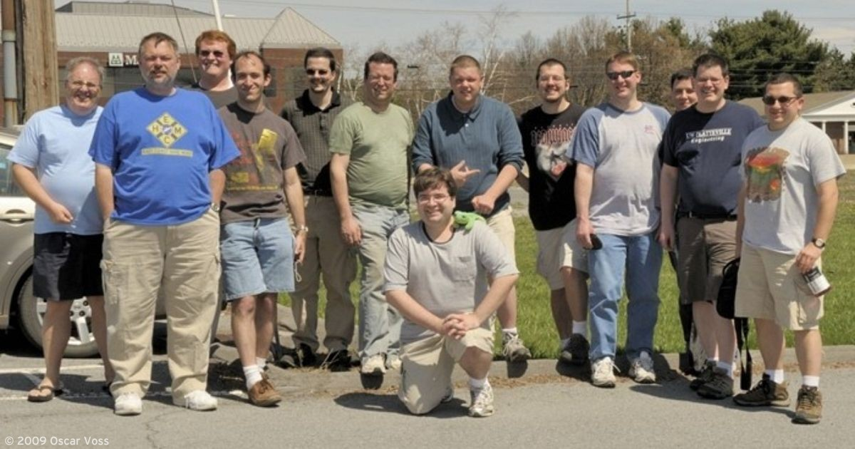Group picture of those who attended the 2009 State College Meet.