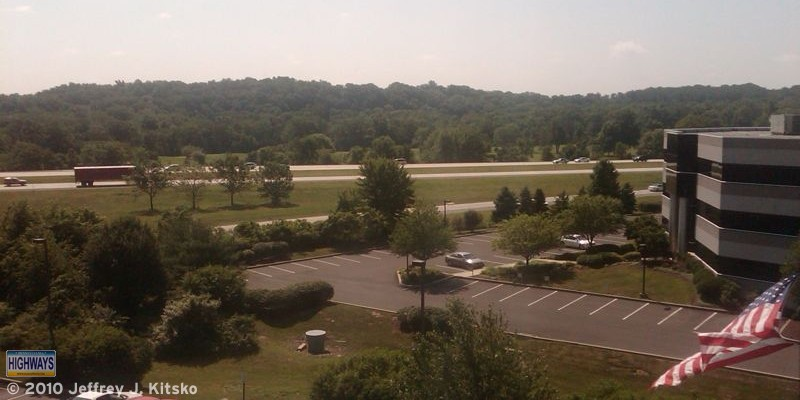 View of US 422 from my hotel room window on the morning of the 2010 SEPA Meet