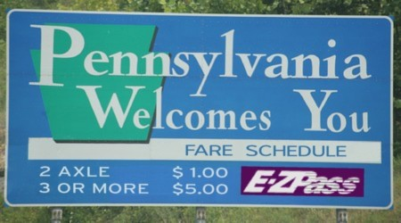 Welcome to Pennsylvania Sign/Fare Schedule