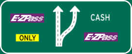 Express E-ZPass/Cash Lane Distribution
