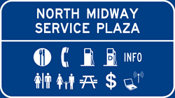 North Midway Service Plaza