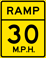 Ramp Speed 30 M.P.H.