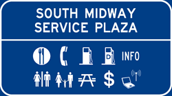 South Midway Service Plaza