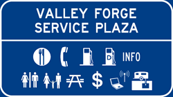 Valley Forge Service Plaza