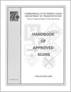 Cover of the Handbook of Approved Signs 2006 edition