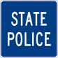 Image of a State Police Symbol Sign (D9-14)