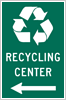 Image of a Recycling Center Sign (I-11)