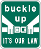 Image of a Buckle-Up Sign (I14-6A)