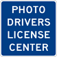 Image of a Photo Drivers License Center Sign (I15-3)