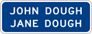 Image of a Name of Person(s) Sign (I42-2)